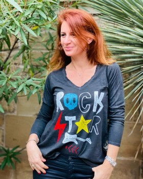 Tee shirt Rock Star