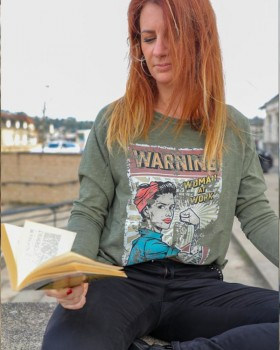 Tee shirt Warning