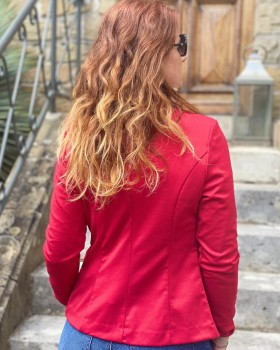 Veste Kate Rouge